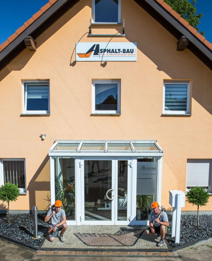 Verwaltungsgebäude in Bernsdorf